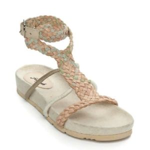 NEW Free People Denali Woven Footbed Sandals